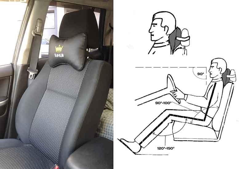 Подушки для шеи в авто