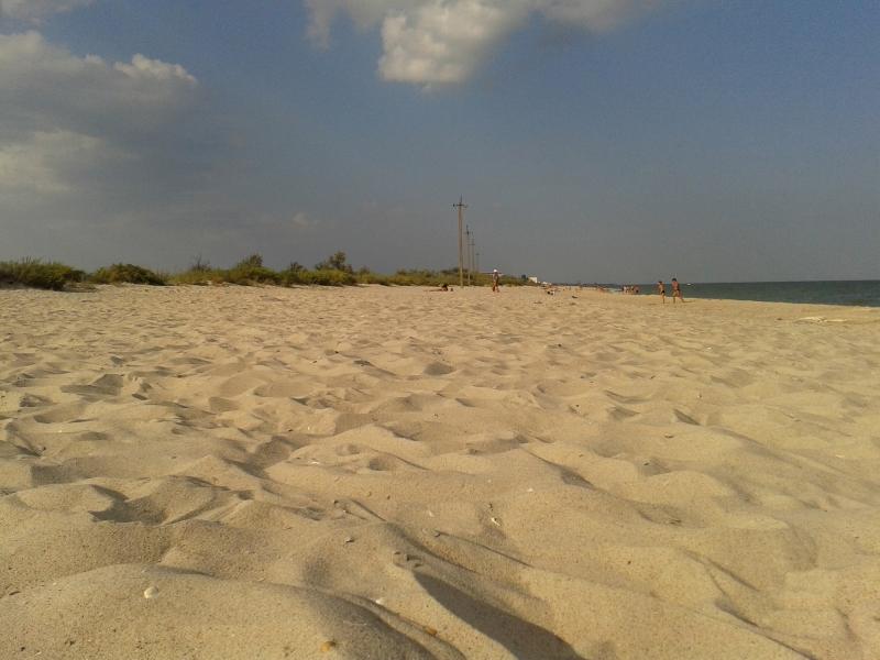 Недорогой отдых на черном море. Сергеевка.
